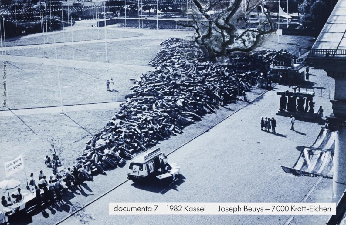 7000 Oak Trees 1982 by Joseph Beuys 1921-1986
